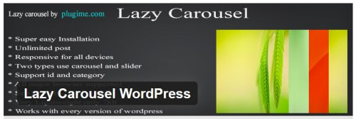 Lazy Carousel WordPress