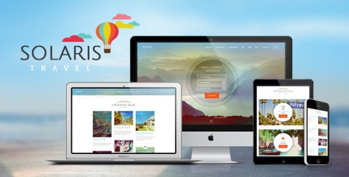 Solaris - Travel Agency WordPress Theme