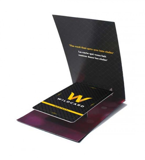 Wildcard Pop-up  Business Card