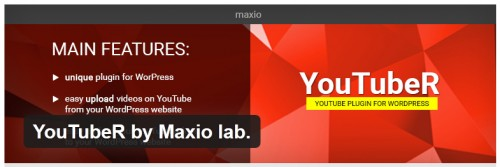 YouTubeR by Maxio Lab
