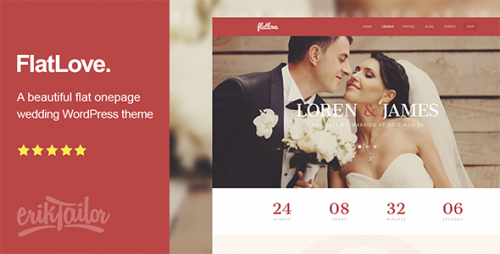 FlatLove - Amazing Wedding WP Theme