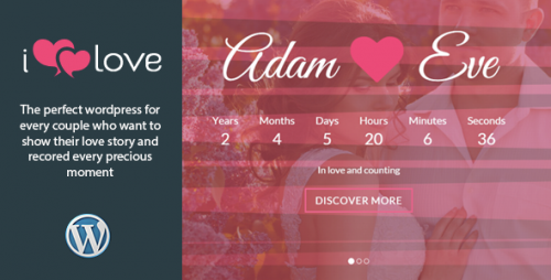 ilove - Lovely Wedding WP Theme