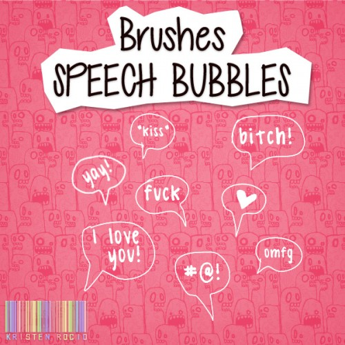 Amazing Free Speech Bubbles Brushes