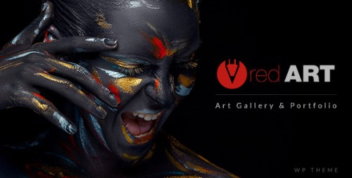 Red Art - WordPress Portfolio, Photography Theme