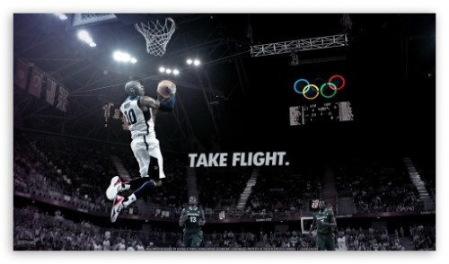 Kobe Bryant Take Flight Wallpaper