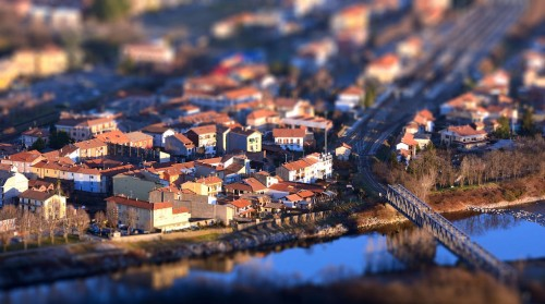Romagnano in Tilt Shift