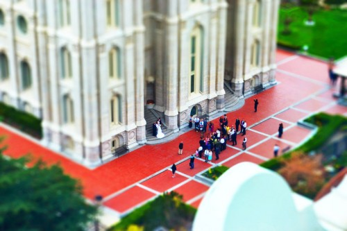 Tilt Shift Experiment