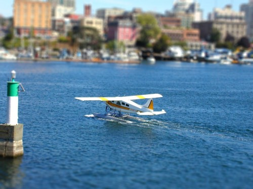 Tilt-Shift Seaplane